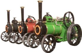 Allchin Gas Fired ¾ Scale Engine - Green